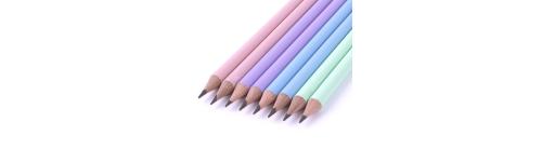 Długopisy, ołówki, gumki do ścierania
